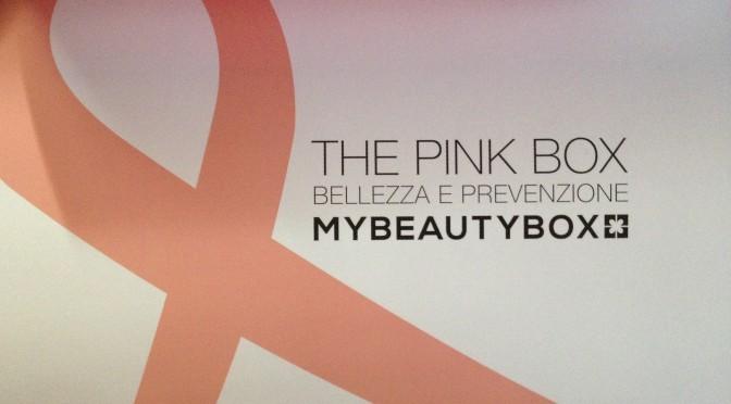 La My Beauty Box di ottobre 2014 diventa The Pink Box: bellezza e prevenzione nel mese della lotta al tumore al seno