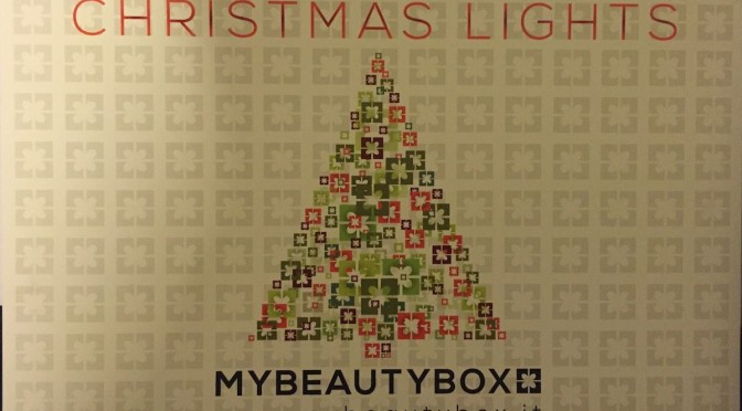 Christmas Lights, MyBeautyBox dicembre 2014