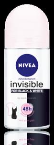 Deodorante invisible black&white
