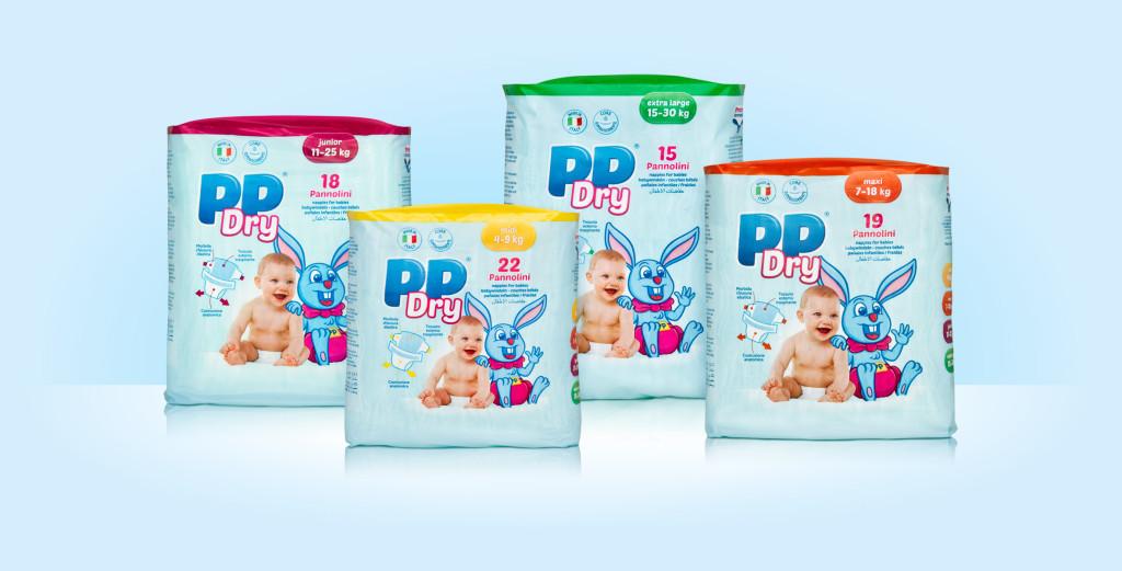 confezione pannolini PPDry
