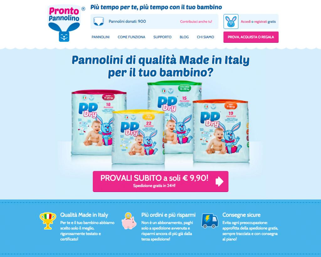 sito ProntoPannolino