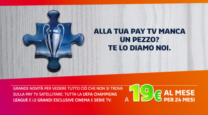 Mediaset Premium, quali offerte a settembre 2016? Champions League a 19€ e tanto streaming!