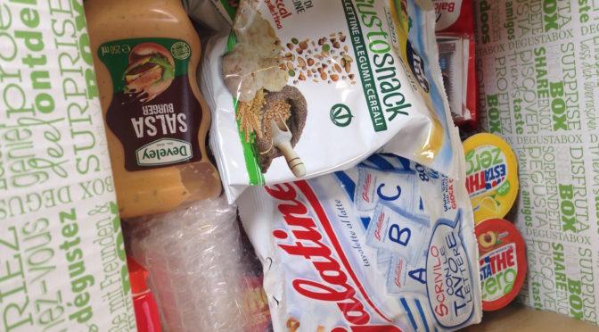 """""""Povera"""" Degustabox, a maggio 2017 la scatola di assaggi in abbonamento segna il passo"""