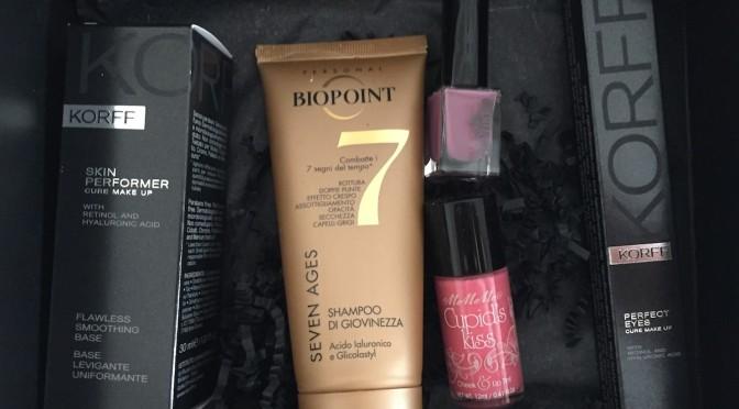 Festa della donna ma non solo con la MyBeauty Box marzo 2015. La Lady's Essentials, the perfect make up