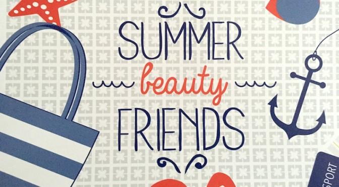 Pronti per le vacanze? Via, si parte ad agosto 2015 con il cofanetto Summer Beauty Friends di MyBeautyBox!