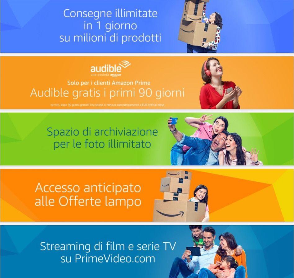 vantaggi amazon prime italia